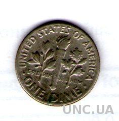 One Dime - США 10 Центов 1974