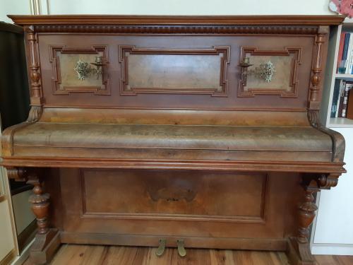 Антиквариатное немецкое пианино