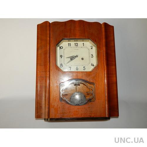 Часы настенные ЯНТАРЬ с боем  6848