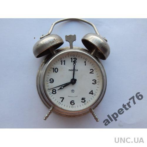 Часы настольные будильничек РАКЕТА DSCN8994