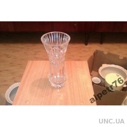 Хрустальная ваза из ссср