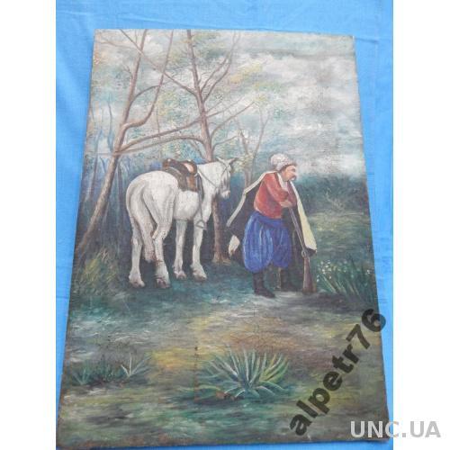 Картина 1970 г дарственная  DSCN0873  70/50см