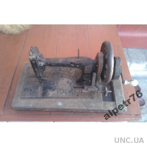Машинка швейная старинная winselmann
