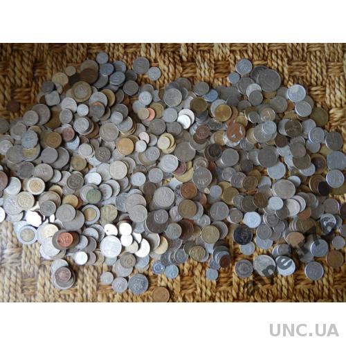 Монеты иностранные 165 штук  DSCN3641
