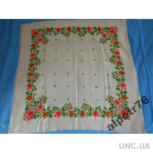 Платок шерсть ссср №504         83  см