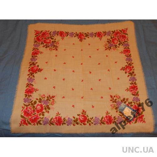 Платок ссср шерсть №420   77  см