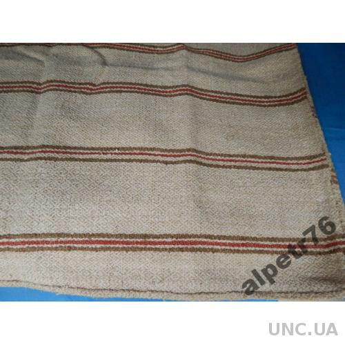 Покрывало старинное домотканое DSCN4650  165/160см