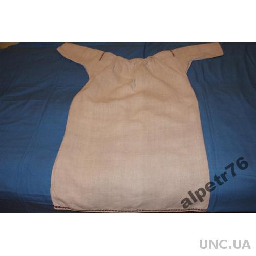 Сорочка рубашка Українська старинная полотно №3