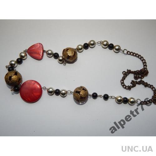Старинное намисто ожерелье бусы DSCN0518