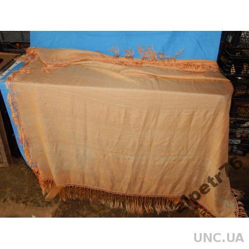Старинный БОЛЬШОЙ шелковый платок ЦАРИЗМ ОРИГИНАЛ
