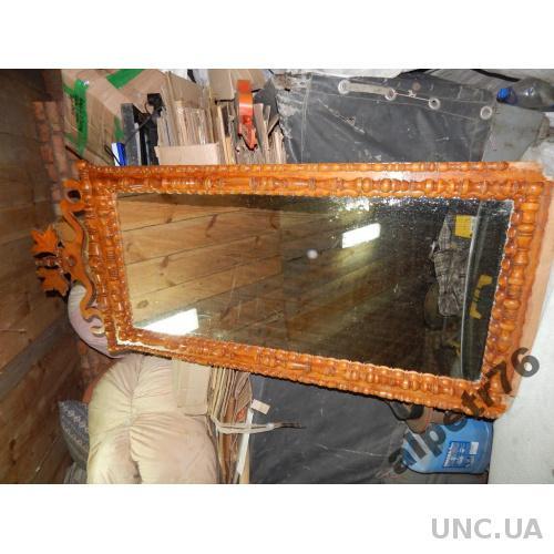 Зеркало старинное большое