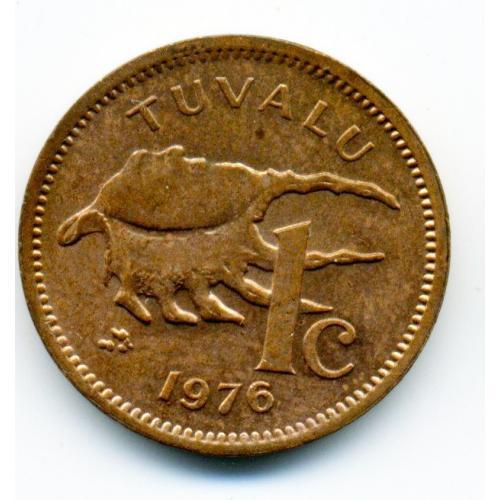 1 цент 1976 ТУВАЛУ