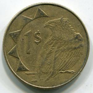 1 долар 2010 НАМІБІЯ