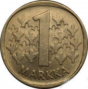 1 стара марка 1981 ФІНЛЯНДІЯ