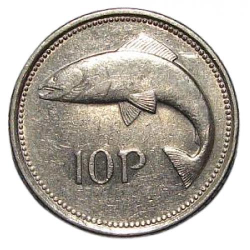 10 пенсів 1993 ІРЛАНДІЯ