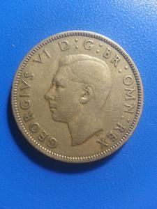 2 шилінга 1948 ВЕЛИКОБРИТАНІЯ = ГЕОРГ 6