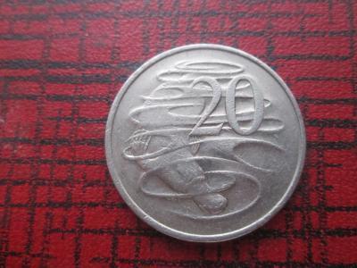 20 центів 1980 АВСТРАЛИЯ