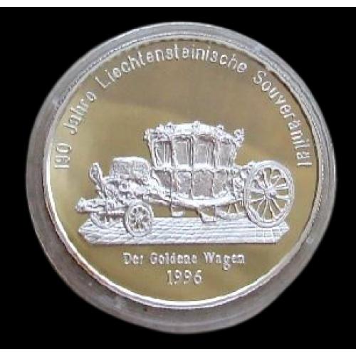 +++ 20 євро 1996  ЛІХТЕНШТЕЙН +  СЕРЕБРО