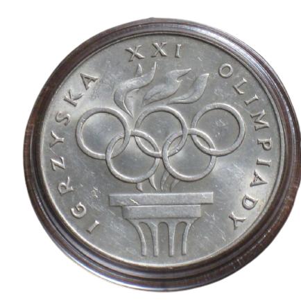 200 злотих 1976 = СЕРЕБРО = ПОЛЬЩА = ОЛІМПІАДА В МОНРЕАЛІ