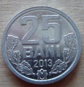 25 бані 2013  МОЛДАВІЯ =a UNС