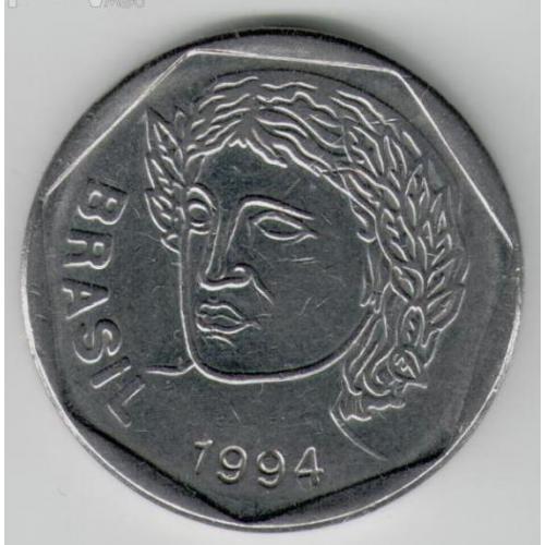 25 сентаво 1994 БРАЗИЛІЯ = аUNC