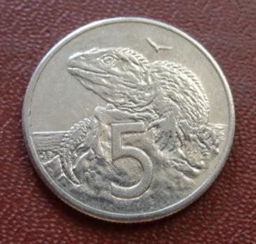 5 центів 1987 НОВА ЗЕЛАНДІЯ