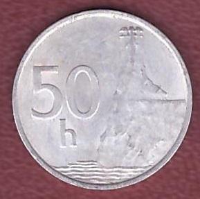 50 хелерів 1993 СЛОВАЧЧИНА