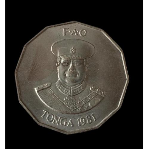 50 сеніті 1981 ТОНГА  = ФАО