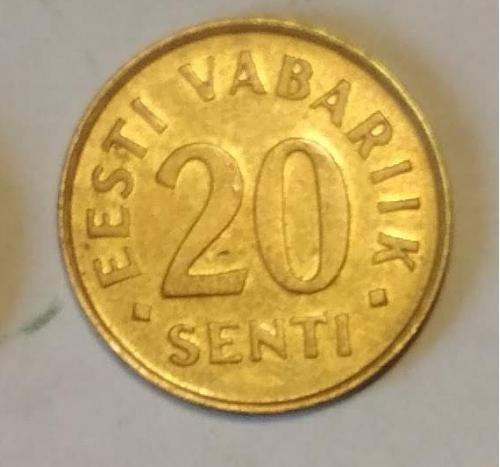 Эстония 20 сенти 1996