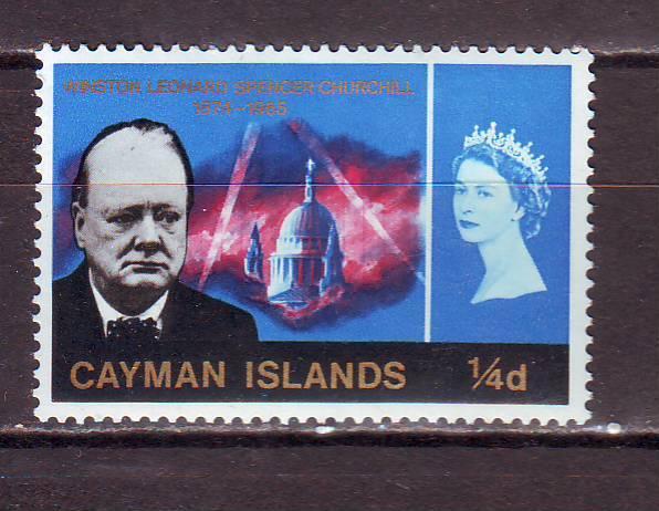 Каймановы о-ва**. 1966г. Черчилль