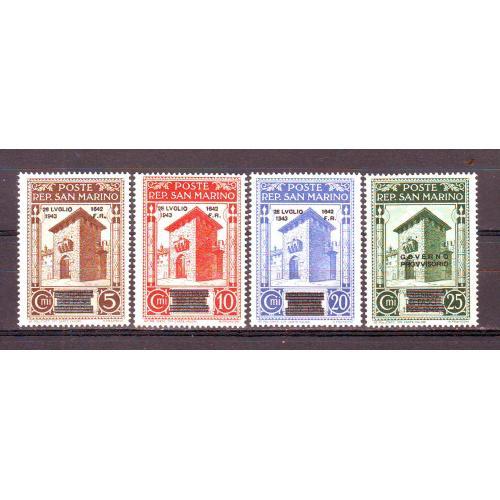 Сан-Марино*. 1943г.