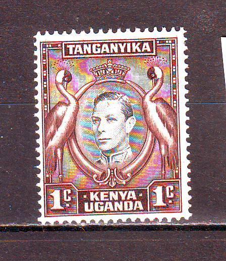 Танганика-Кения-Уганда**. 1938г. Король Георг-VI