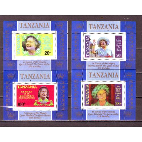 Танзания**. 1985г. Королева-мать