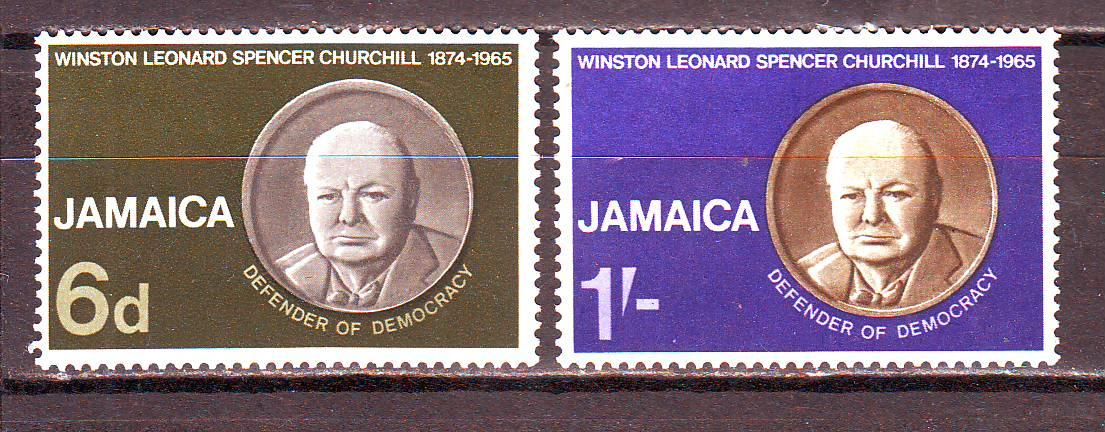 Ямайка**. 1966г. Черчилль