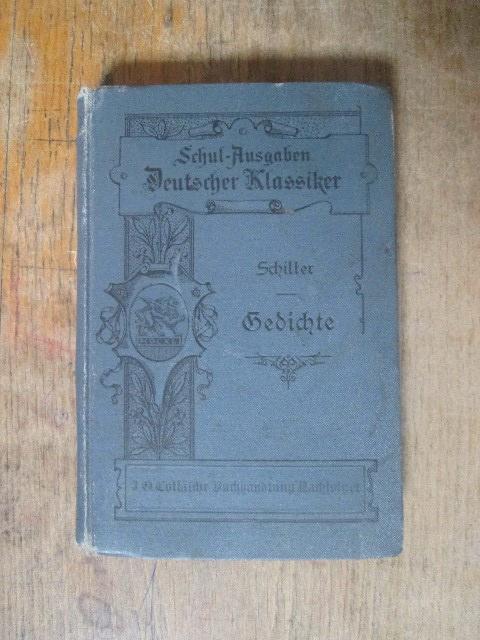 Шиллер. 1905. (на немецком)