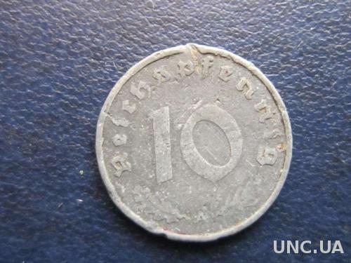 10 пфеннигов Германия 1940 Рейх свастика