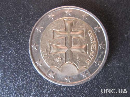 2 евро Словакия 2011