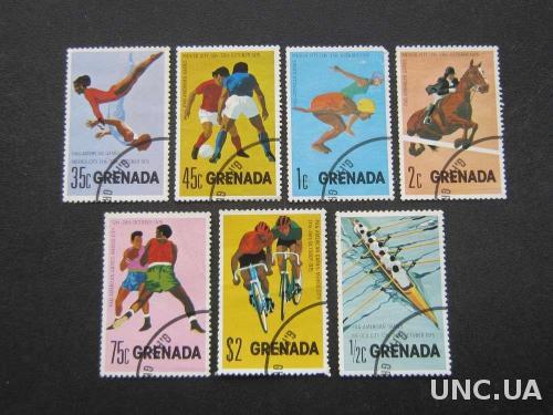 7 марок Гренада спорт