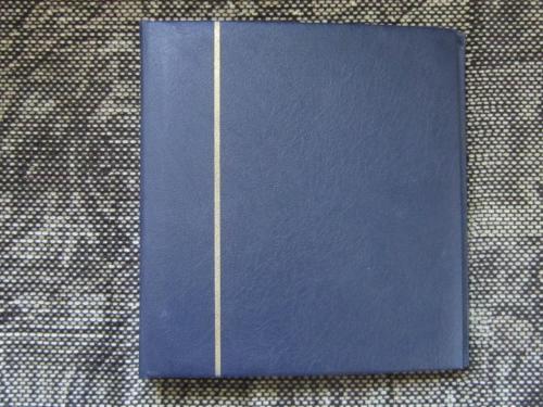 Альбом для монет NUMIS на 126 монет тёмно синий №2