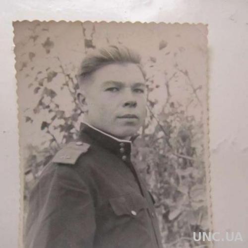 Фото старое 1951 На память другу о службе в ВВС