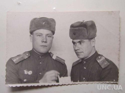 Фото старое 1952 Солдатики