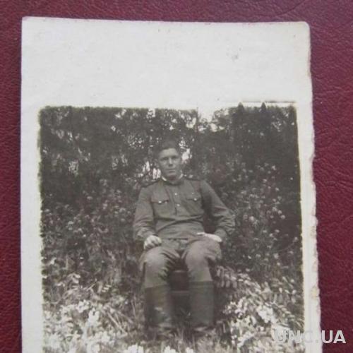 Фото старое Служивый