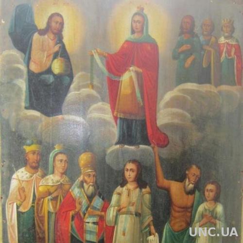 Икона Покрова Пресвятой Богородицы. Храмовая