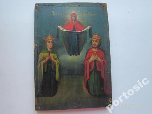 Икона Покрова Пресвятой Богородицы. Нечастая