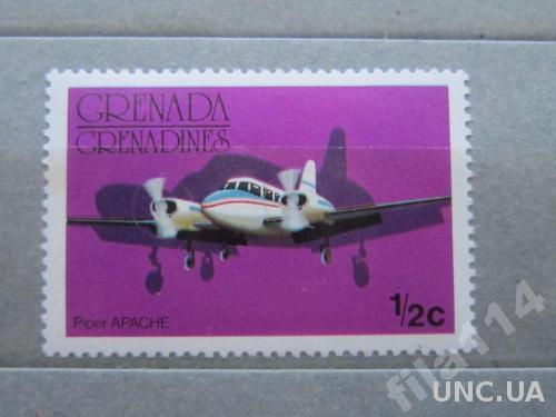 марка Гренада и Гренадины самолёт MNH