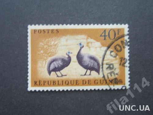 марка Гвинея птицы