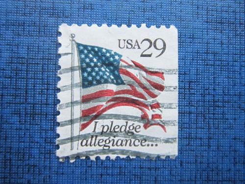 Марка США стандарт флаг гаш №2