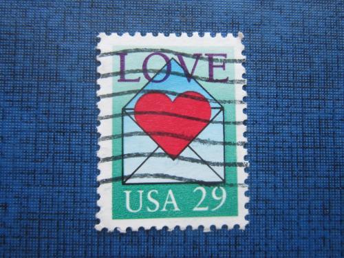 Марка США стандарт любовь гаш