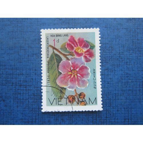 Марка Вьетнам флора цветы гаш №2