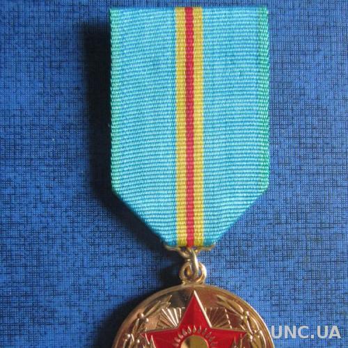 Медаль 10 лет независимости Казахстана Состояние люкс!